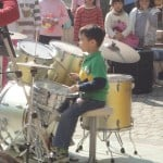 First grade drummer - and a very good one, at that!