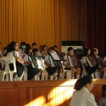 Music competition - a lot of accordions and a few other instruments